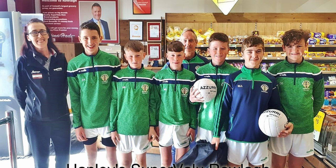 Round Towers GAA U13's 2019 Sponsorship
