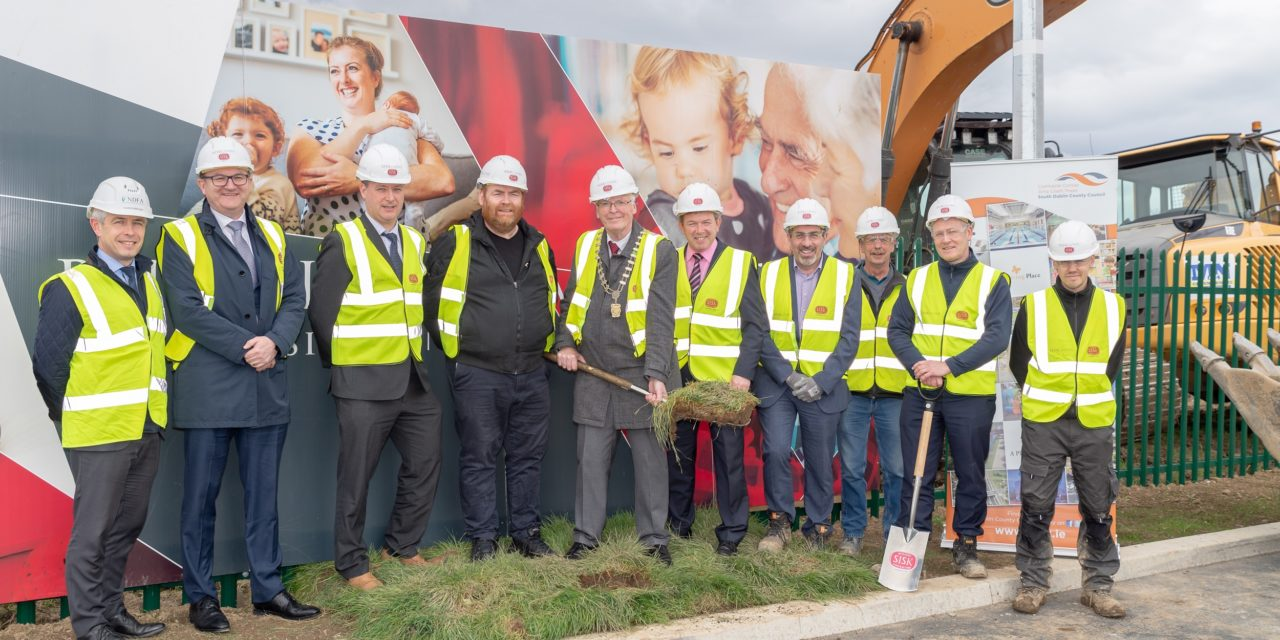Turning The Sod On 109 Homes In Clondalkin