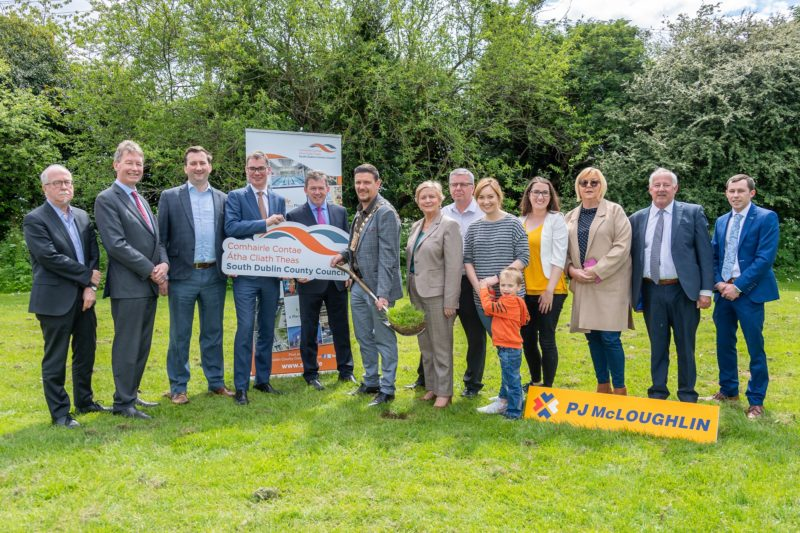 Lucan Swimming Pool Sod Turned