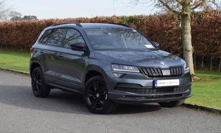 Sporty New Škoda Karoq 'SPORTLINE'.'