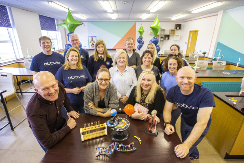 AbbVie Employees Transform DEIS School Science Facilities