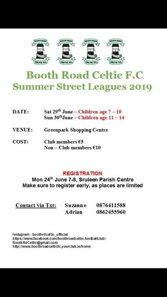 Booth Rd Celtic Players