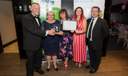 SVP Firhouse Volunteer Recognised