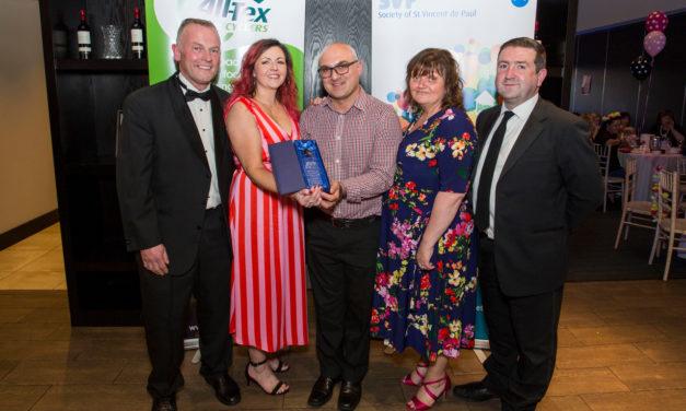 Tallaght Vincent's shop wins Business Development award