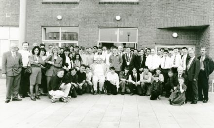 Getting Nostalgic With Newsgroup: football teams at South Dublin County Council Offices in 1996