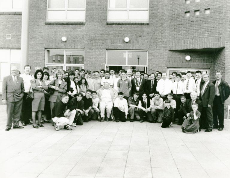 Nostalgic Newsgroup football teams SDCC