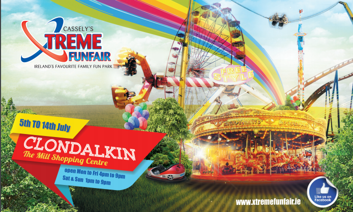 Xtreme Funfair Returns to Clondalkin July 2019