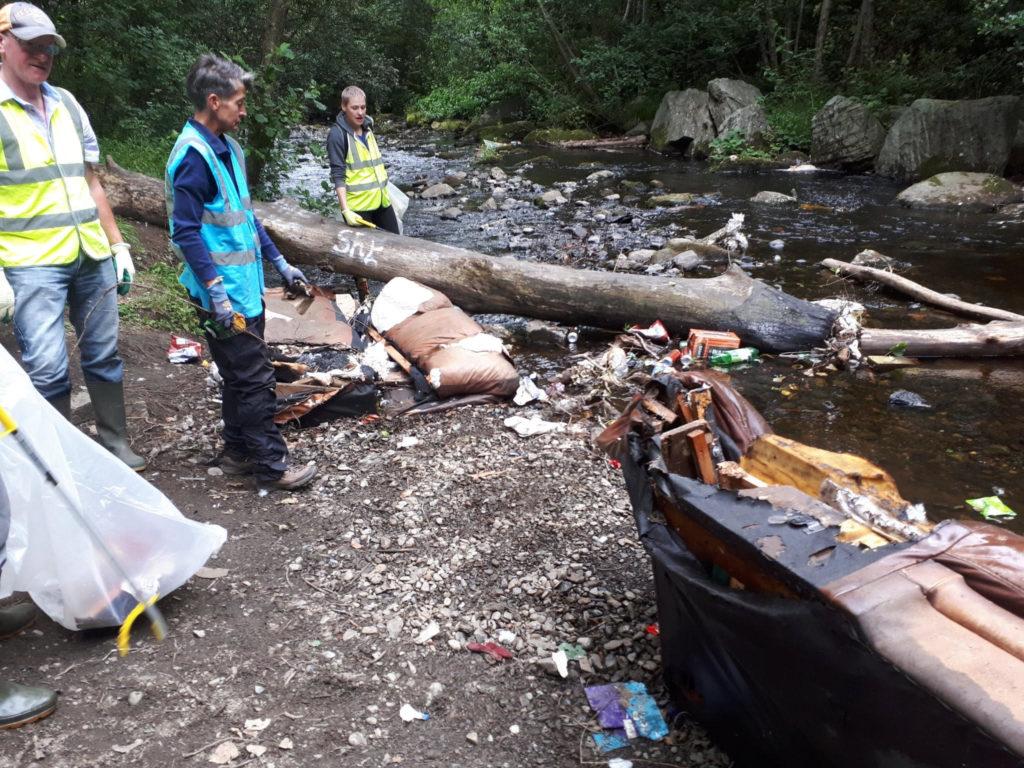 Dodder Litter Mugs July Clean Up