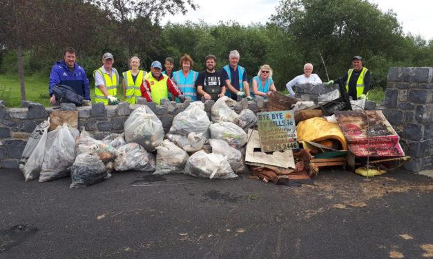 Dodder Valley Litter Mugs Recent Clean Up