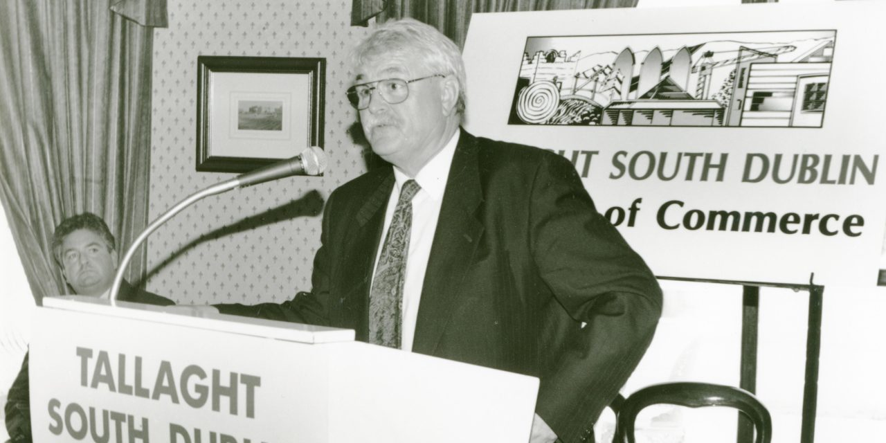Getting Nostalgic with Newsgroup; Ken Maginnis speaking to Tallaght 1995