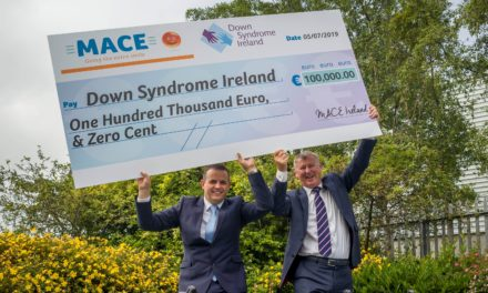 MACE raise €100,000 for Down Syndrome Ireland