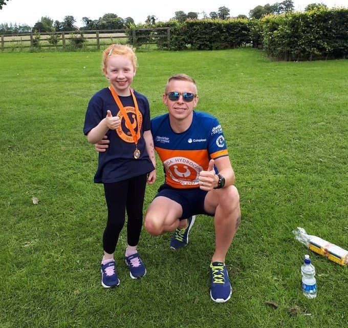 Marathon Man To Ironman Family Fun Run A Huge Success