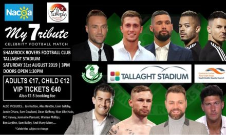 Calum Best to host charity match in Tallaght in August