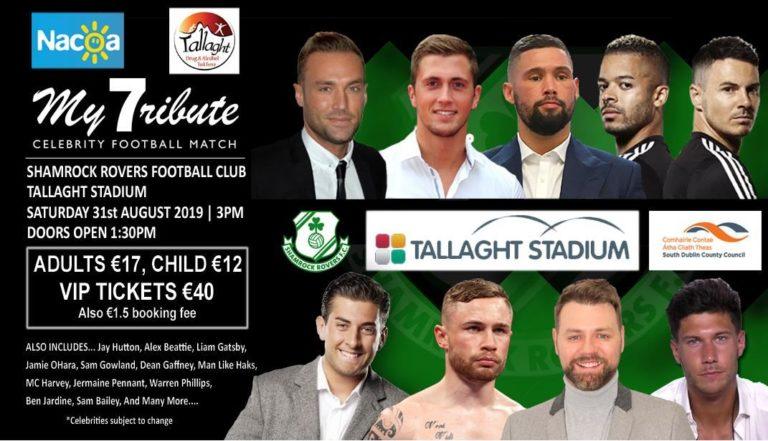Calum Best charity match Tallaght August