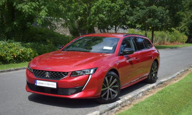 All New Peugeot 508 SW – Sleek Desirability.