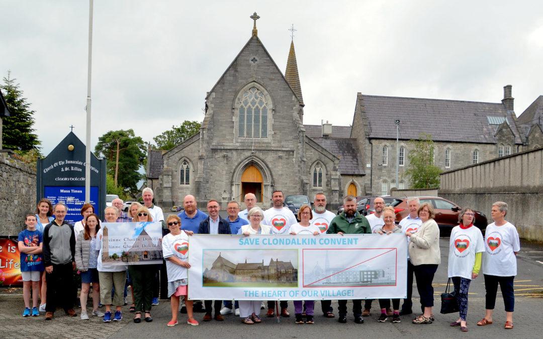 Save Clondalkin Convent Meeting 11th December