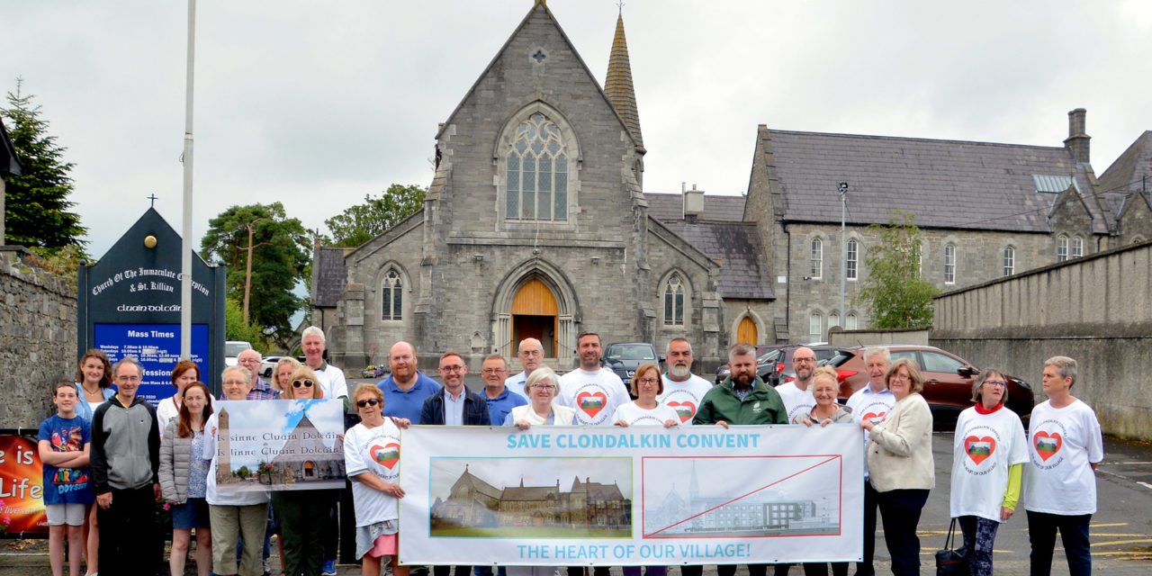 Save Clondalkin Convent Meeting 11th December