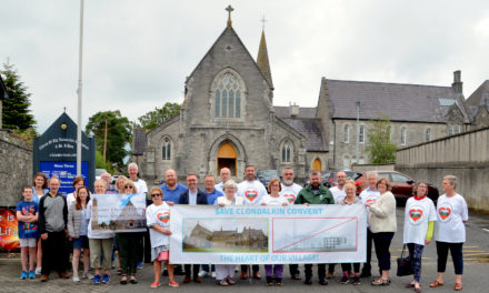 Save the Convent the heart of Clondalkin Rally Saturday 28th September