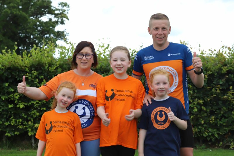 Tallaght man finishes 10 day half Ironman challenge for charity