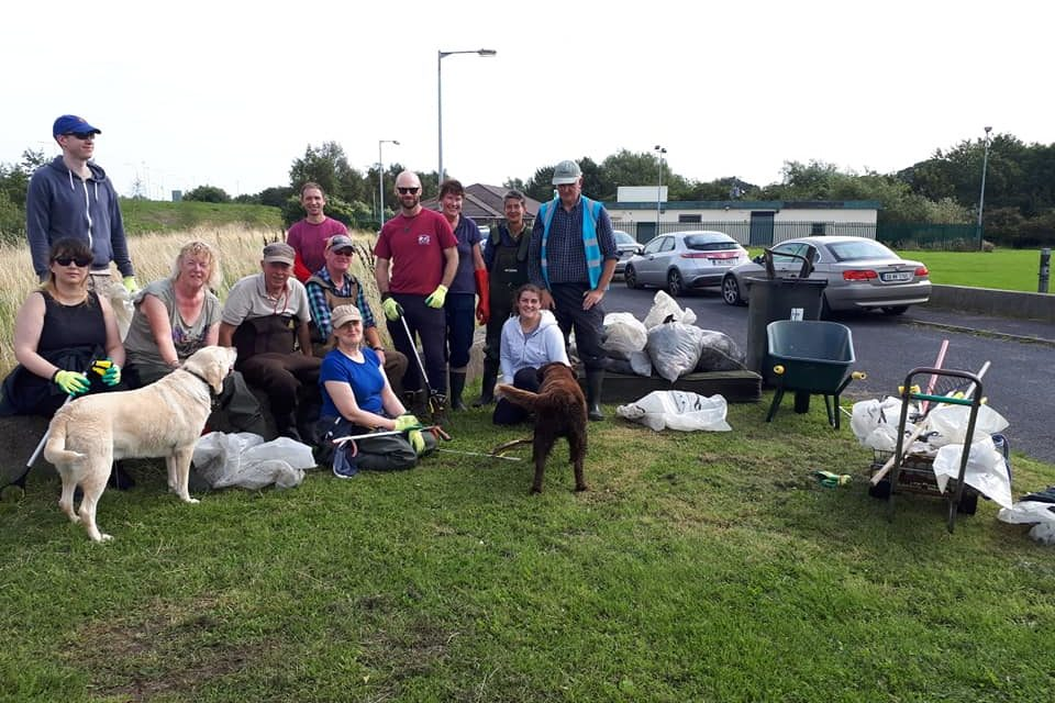 Dodder Valley Clean Up August 2019