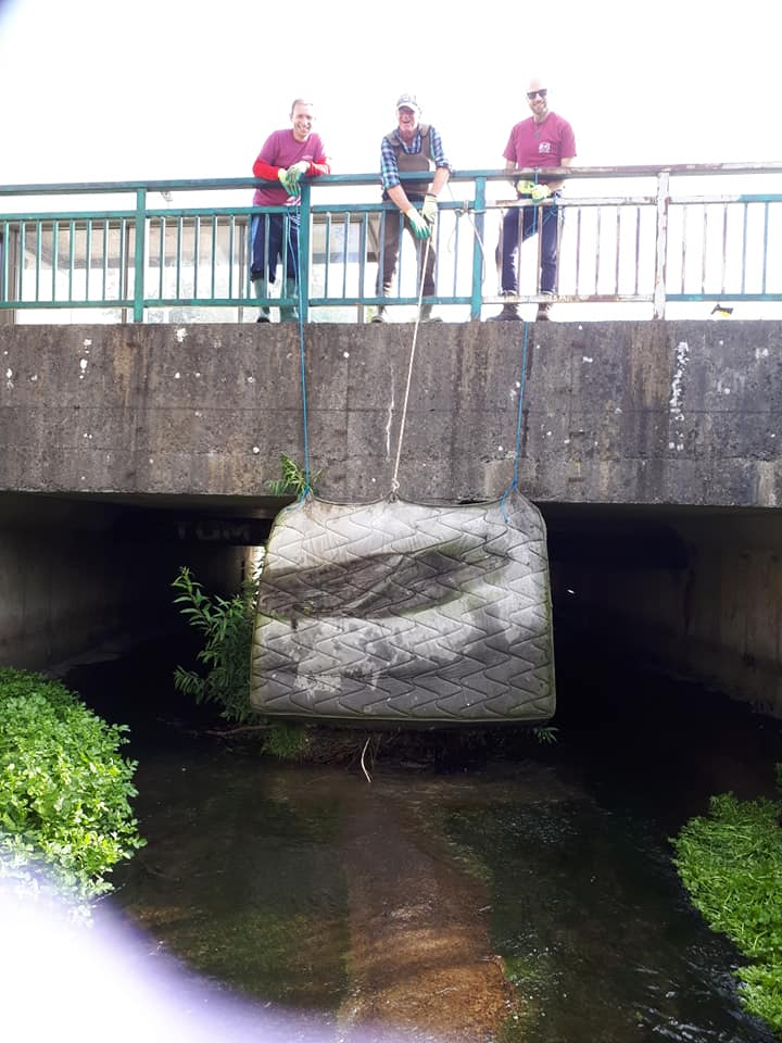 Dodder Clean Up Aug 2019