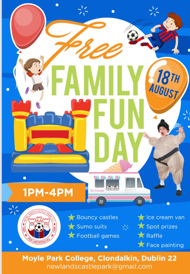 Newlands Castlepark FC Family Fun Day