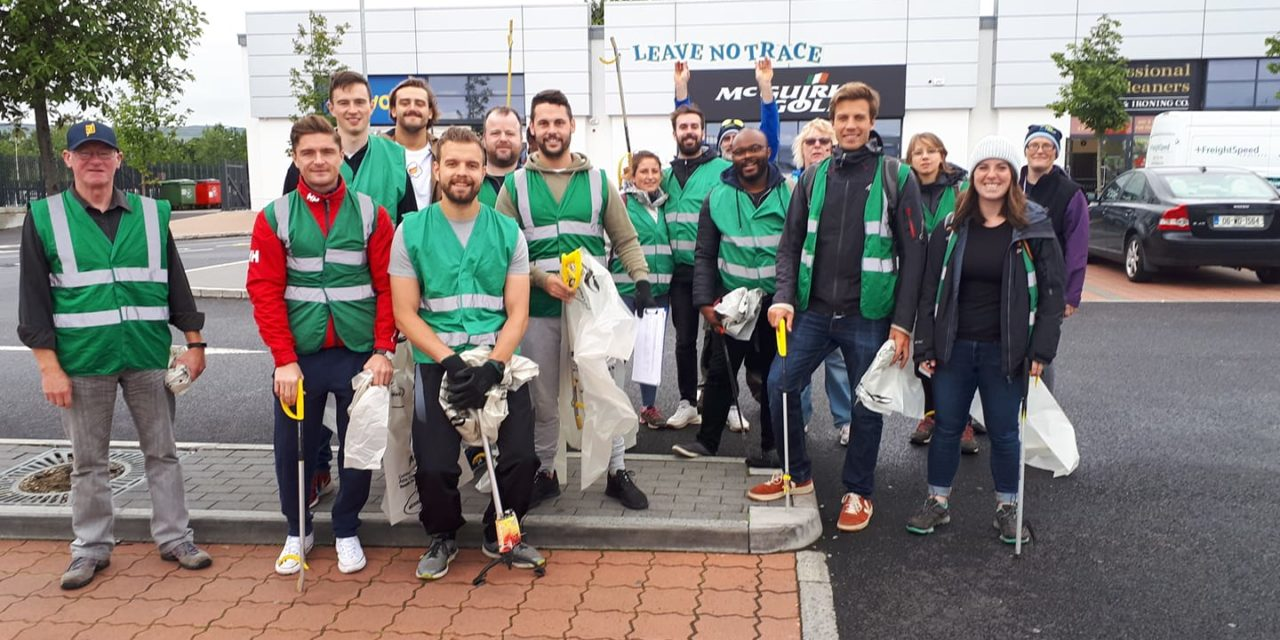 Leave No Trace Ireland and Google Ireland Working Together