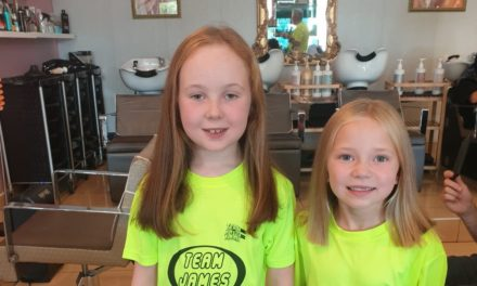 Team James Superstars Maisy and Lucy get the chop for Barretstown