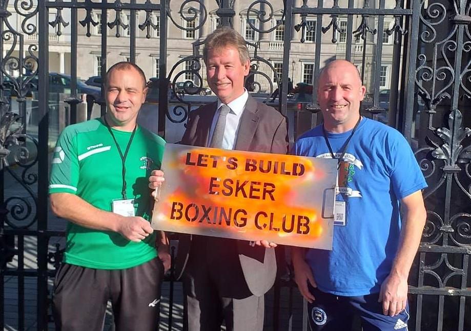 Let's Build Esker Boxing Club