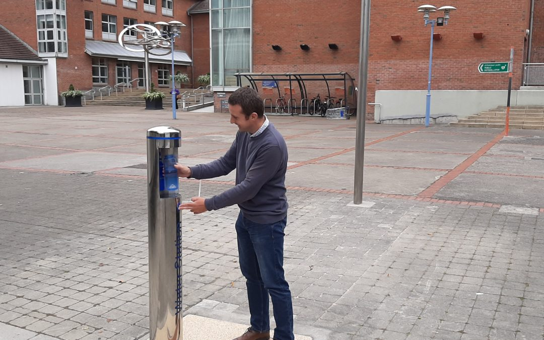 SDCC launch new public water fountains