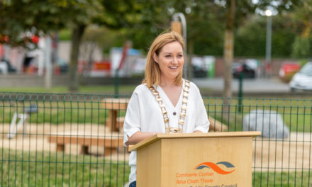 Playspace at Glendown Park Officially Opens