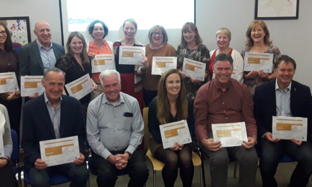CDI awards first-ever Restorative Practice 'Champions' Certs in Tallaght