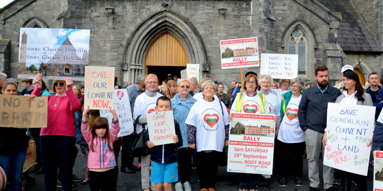 Save Clondalkin Convent March