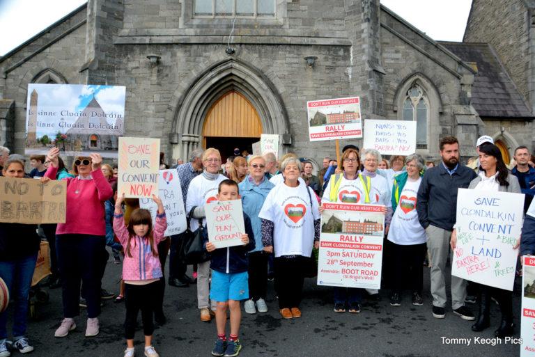 Save Clondalkin Convent March