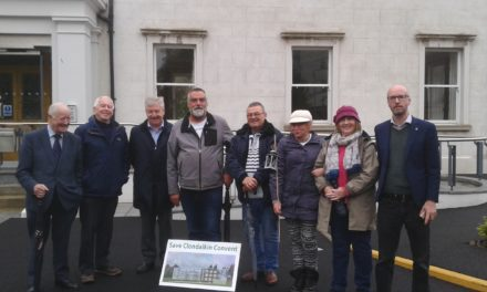 Save Clondalkin Convent Campaign Deliver Petition