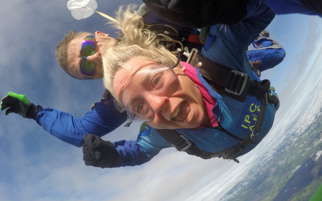 Citywest Slimming World Consultant Sharon Skydives!