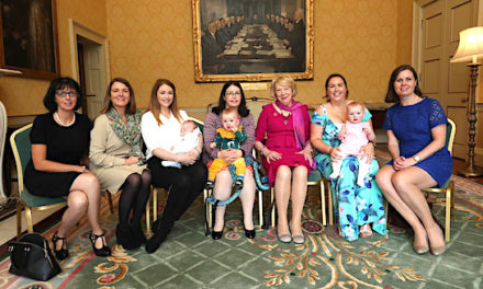 Tallaght mothers attend breastfeeding information morning