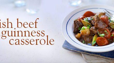 Winter Comfort Food With Slimming World; Irish Beef & Guinness Casserole