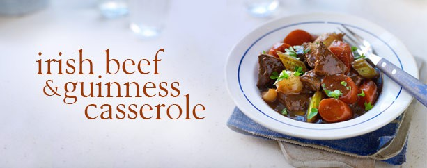 Winter Comfort Food With Slimming World; Irish Beef & Guinness Casserole