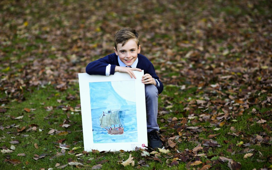 WINNING ARTWORK BY LUCAN STUDENT GOES ON EXHIBITION