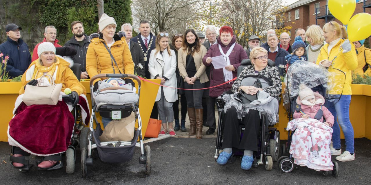 CRC Firhouse Day Centre opens an Accessible Garden Project