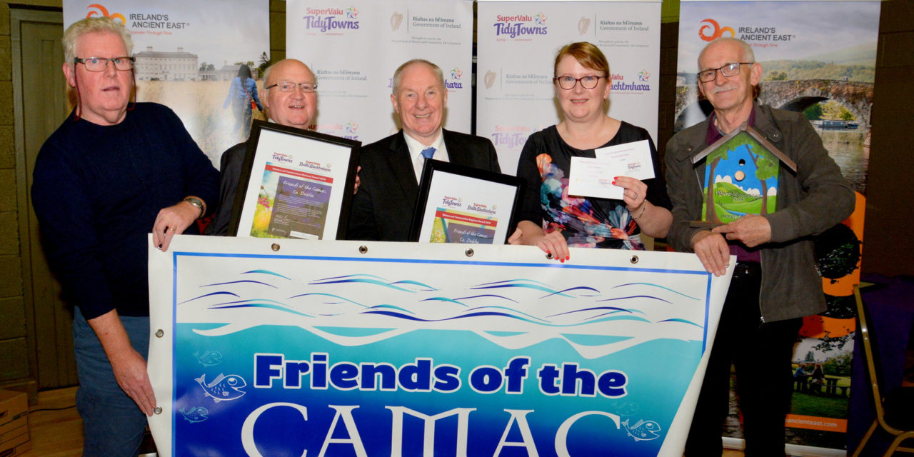 Clondalkin Group Friends of the Camac Win National Award