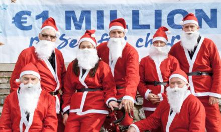 Santa Cycle 2019 in Clondalkin Village