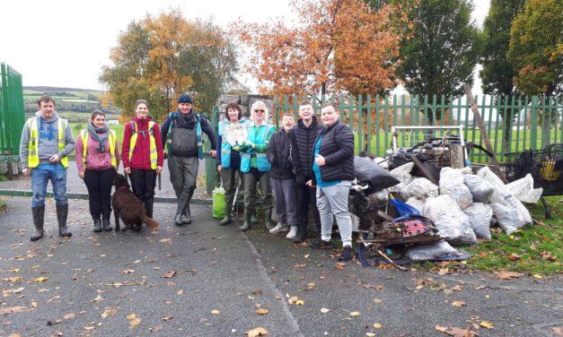 Dodder Valley Litter Mugs November Clean Up