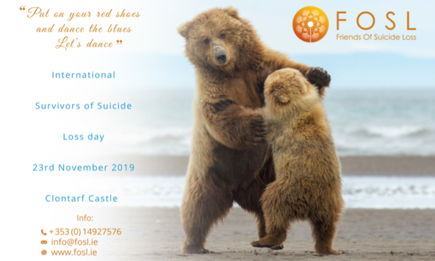 FOSL To Host Events For Internationalsurvivors of Suicide Loss Day