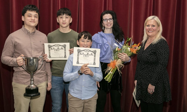 Lucan Student Recognised at Excellence Awards
