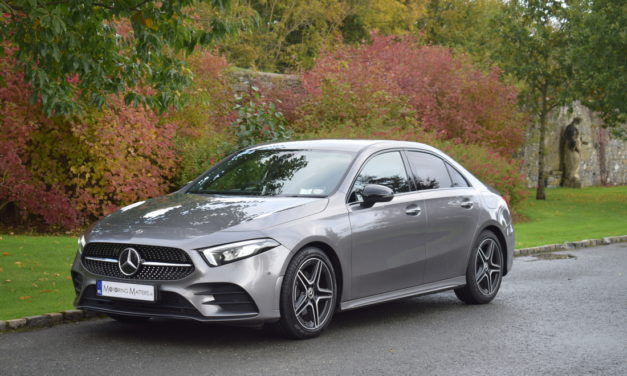 New Mercedes-Benz A-Class Saloon – An Aero'dynamic'Champion.