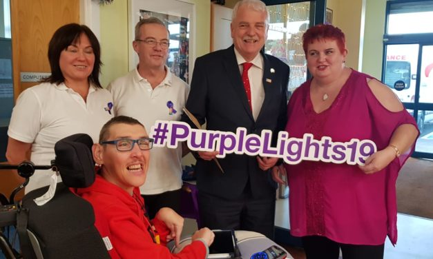 International Day of Persons With Disabilities and Purple Light Up