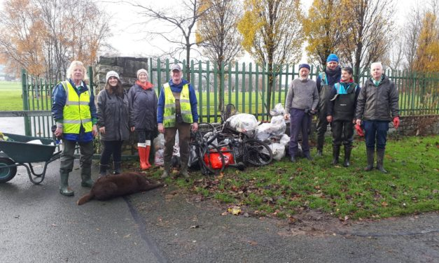 Dodder Valley Litter Mugs – Complete Another Clean Up