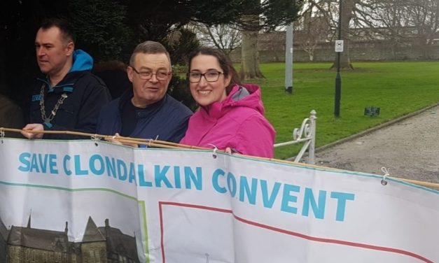 Hundreds Turn Out For Save Our Convent March